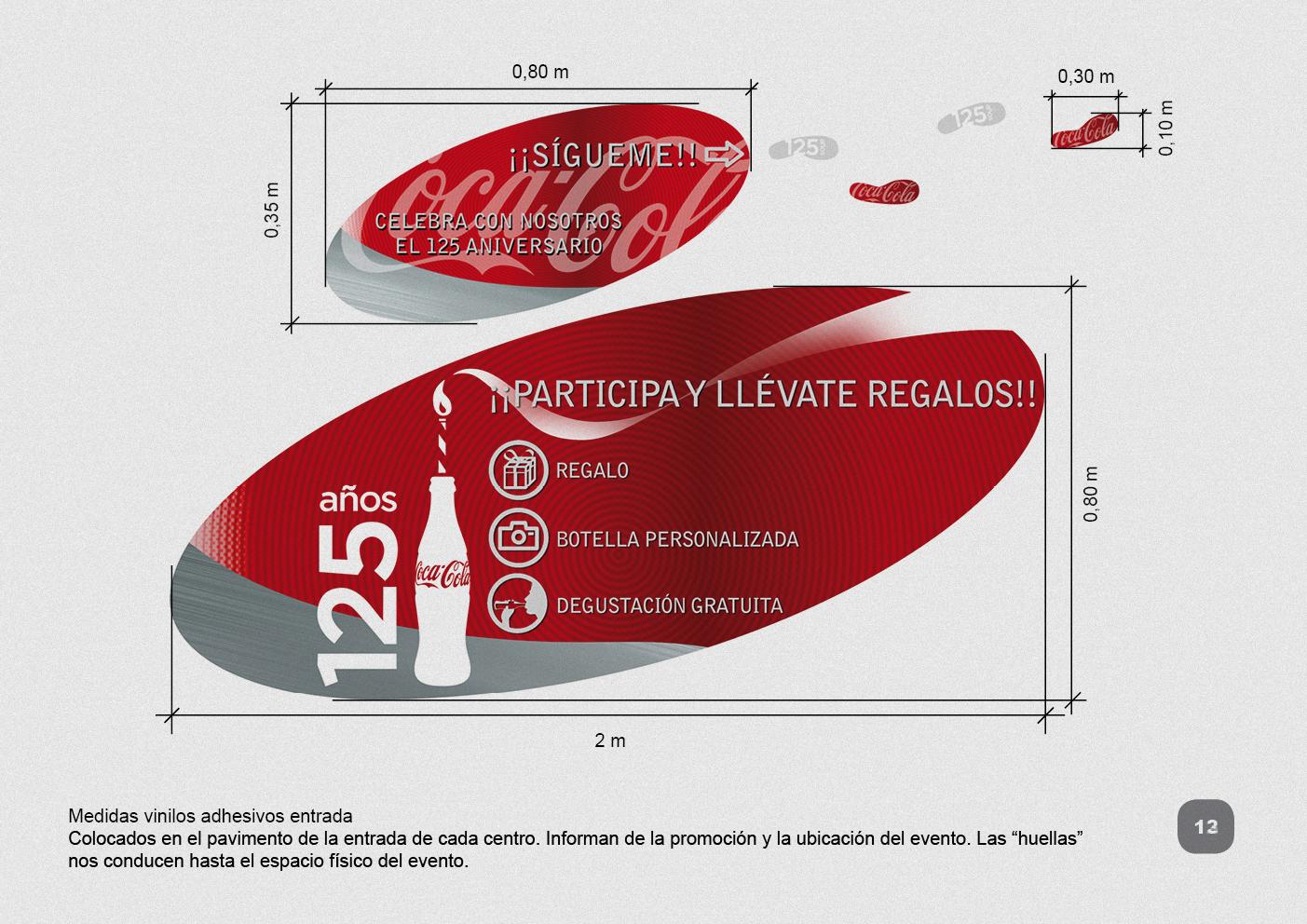 PRESENTACIÓN PROYECTO 125 AÑOS COCA-COLA 412.5